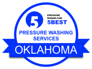 Oklahoma Pressure Washing Services Badge