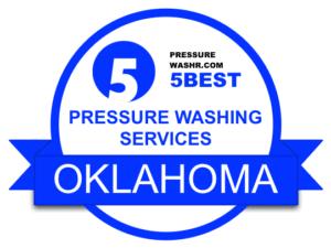 Oklahoma Pressure Washing Services Badge