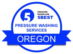 Oregon Pressure Washing Services Badge