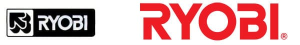 Ryobi Logo Then and Now