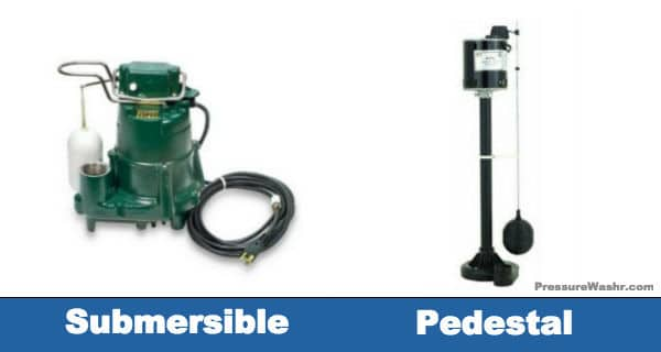 Submersible vs Pedestal Sump Pump