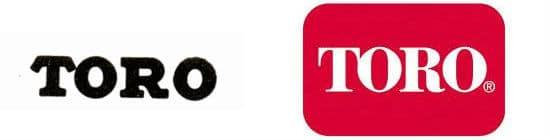 Toro Motor Company Logo Then and Now