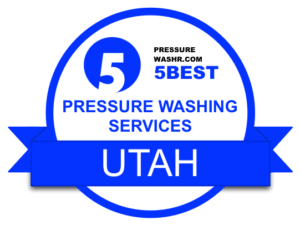 Utah Pressure Washing Services Badge