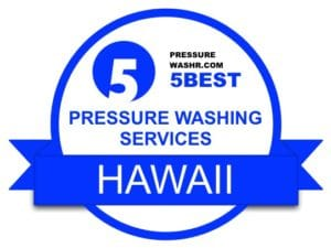 Hawaii Pressure Washing Services Badge