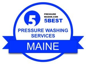 Maine Pressure Washing Services Badge