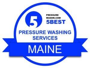 Maine Pressure Washing Services Badge