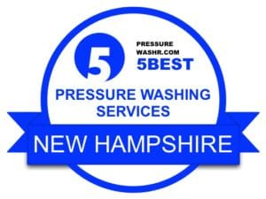New Hampshire Pressure Washing Services Badge