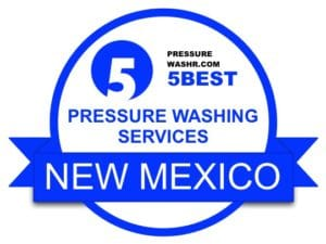 New Mexico Pressure Washing Services Badge
