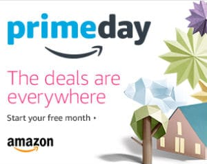 Prime Day Start Your Free Month Image