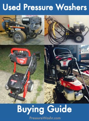 Used Pressure Washer Buying Guide