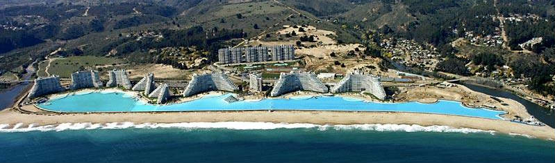 Worlds Biggest Pool in Chile