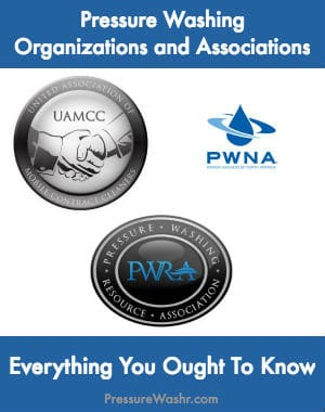 Pressure Washing Organizations and Associations