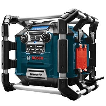 Bosch Heavy Duty Jobsite Radio