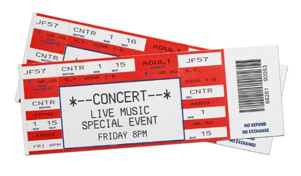 Concert Tickets As Gift Idea For Firefighter