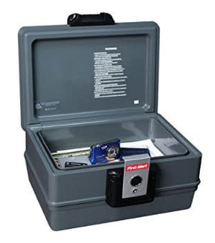 First Alert Fire and Water Proof Safe