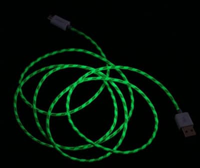 Glow in Dark usb Charger