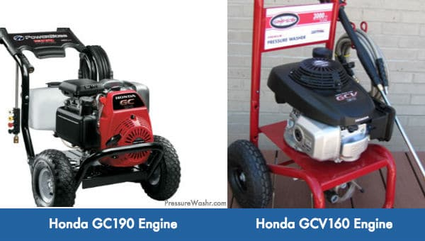 Honda GC Small Engines For Pressure Washers