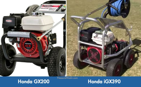 Honda GX Small Engines For Power Washers
