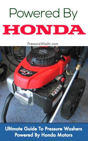 Honda Powered Pressure Washers