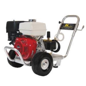 BE pressure 4000 psi Honda powered pressure washer
