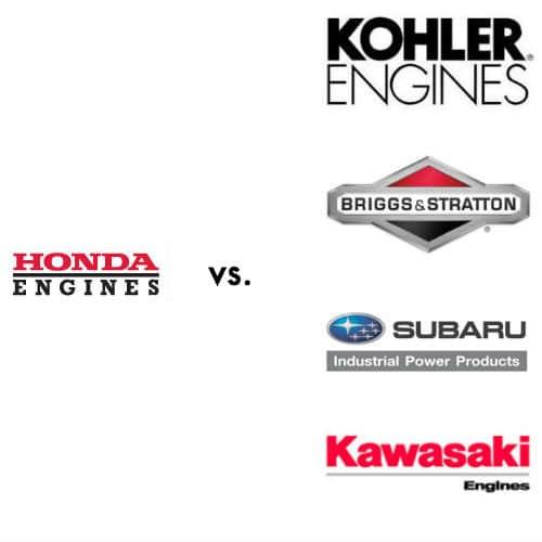 Honda engines vs kohler briggs subaru kawasaki
