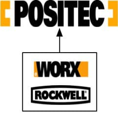 Positec tools owns these brands