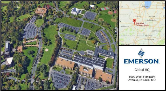 Emerson Electric Headquarters Card