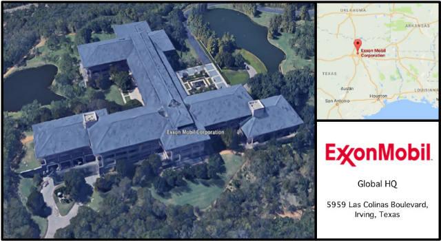 Exxon Mobil HQ Card