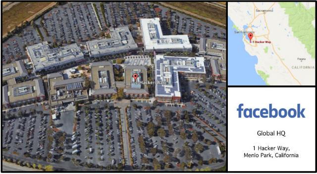 Facebook HQ Card