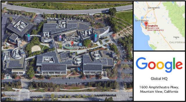 Google HQ Card