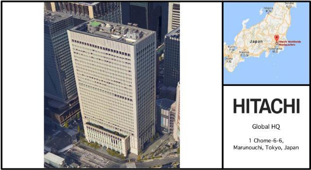 Hitachi Headquarters Card