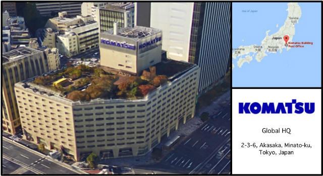 Komatsu Headquarters Card