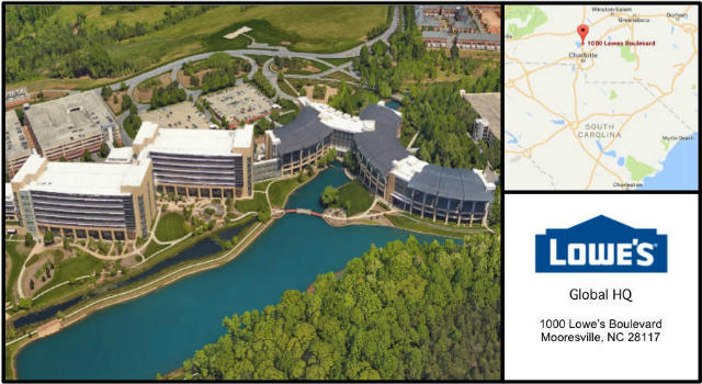 Lowes Companies Headquarters Card