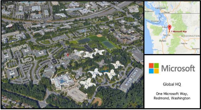 Microsoft HQ Card