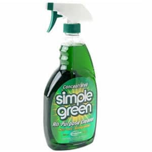 Simple green general purpose car engine cleaner