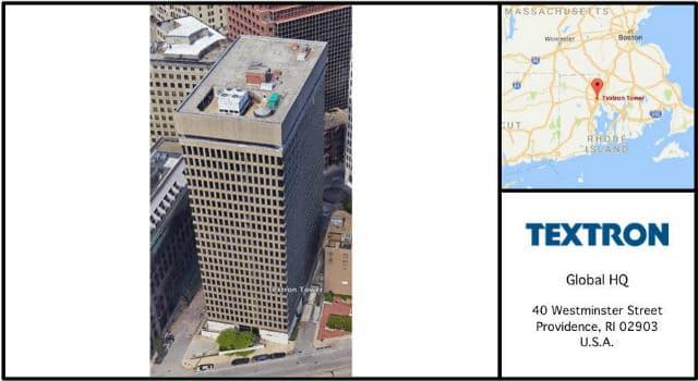 Textron Headquarters Card
