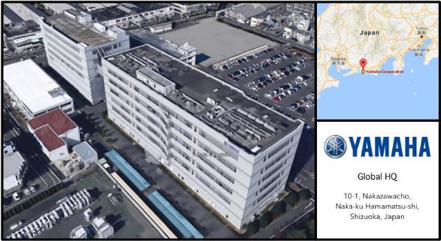 Yamaha Motors Headquarters Card
