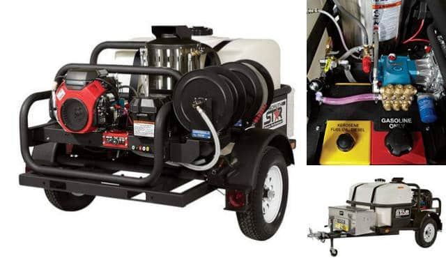 Northstar pressure washer trailer for sale