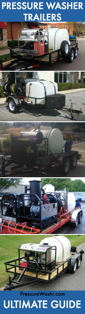 Pressure washer trailers ultimate guide
