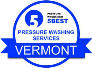 Vermont pressure washing services badge