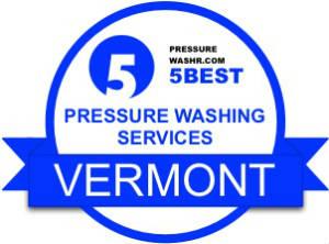Vermont pressure washing services badge