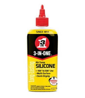 3 IN ONE brand silicone drip oil lubricant