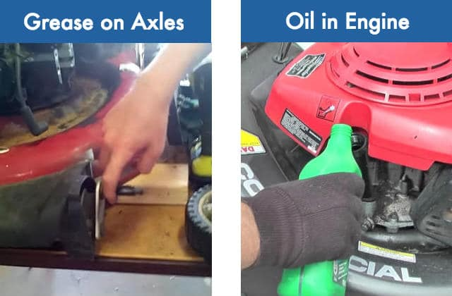 Difference between grease and oil