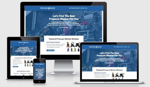 New improved PressureWashr Homepage