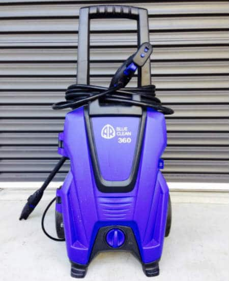 AR Blue Clean Electric Pressure Washer Put Together