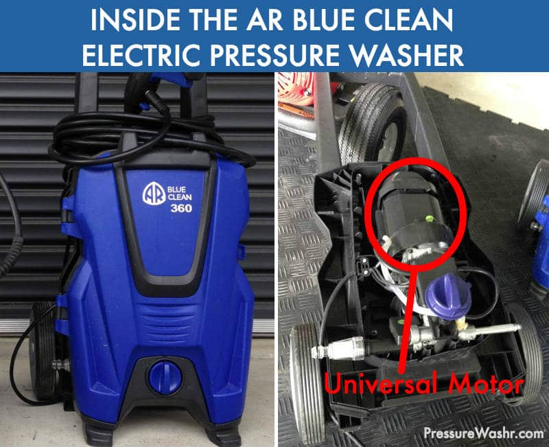 AR Blue Clean Electric Pressure Washer Universal Motor