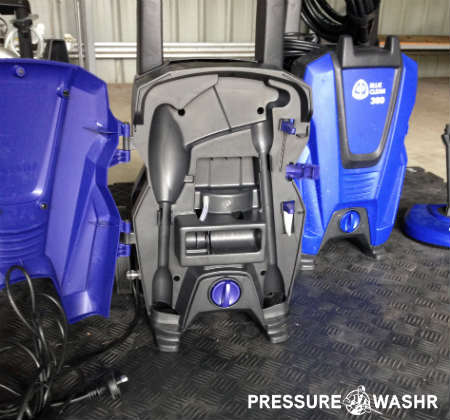 AR Pressure Washer With Front Open