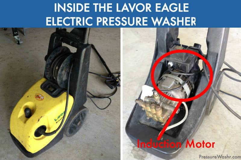 Lavor Eagle Pressure Washer Induction Motor