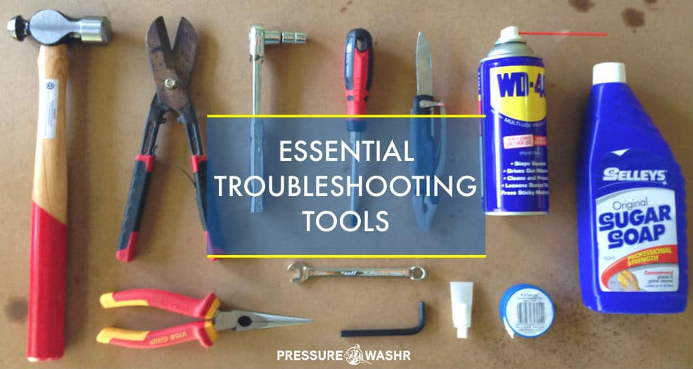 Pressure Washer Essential Troubleshooting Tools