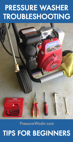 Pressure Washer Troubleshooting Tips for Beginners